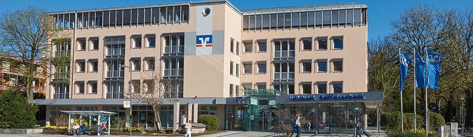 Hauptstelle der Volksbank Raiffeisenbank Oberbayern Südost eG