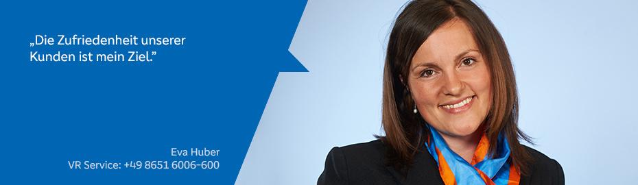 Eva Huber – Mitarbeiterin im VR Service